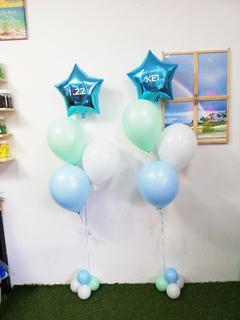 1才のお誕生日のバルーンギフト♪|ファーストバースディ