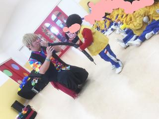 北野おおぞら幼稚園でのバルーンショー♪|JOUのバルーンパフォーマンス