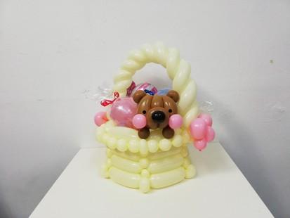 *お菓子入りバルーン*